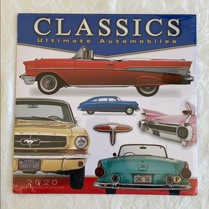 Other - Classics Ultimate Automobiles 2020 Wall Calendar